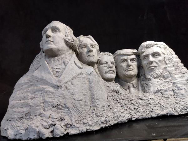 Larger edition of Mount Trumpmore